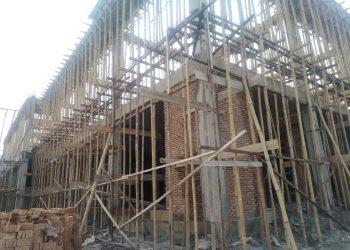 Kantor Otoritas Pelabuhan (OP) tidak ada plang bangunan dan SIM B. Menelan dana hampir Rp 9 Milyar lebih.
