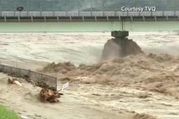 Banjir di Jepang. Foto: ANTARANEWS & TVQ