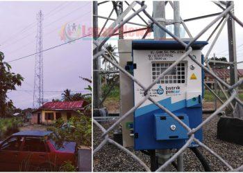Tower yang diduga pendiriannya sarat dengan 'permainan' (Foto: Bang Lahi - LNT)