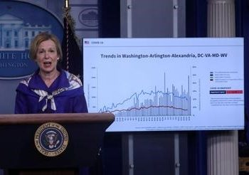 File photo: Dr. Deborah Birx, the White House coronavirus response coordinator, Reuters/Leah Millis/File Photo