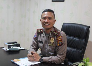 Kasat Lantas Polres Pelabuhan Belawan AKP. P. Gultom, SH.