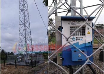Tower Milik Protelindo yang Diduga Tanpa IMB (Foto: Bang Lahi - LNT)